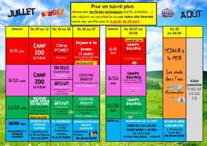 Plaquette Séjour Demain l'Eté 2018 version finale planning